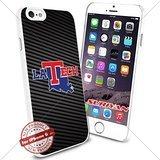 (New iPhone 6 Case Louisiana Tech Bulldogs Logo NCAA #1250 White Smartphone Case Cover Collector TPU Rubber [Carbon Fiber] )