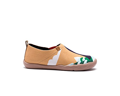 Be Canvas Together Women's Painted Travel Uin Shoe Yellow 5PqXwEW