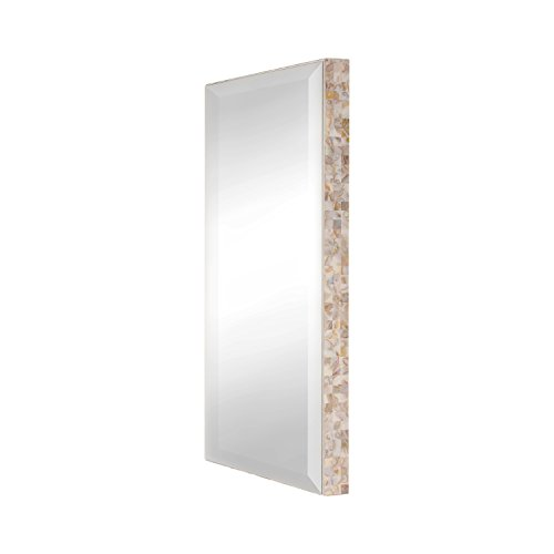 UNIEK DesignOvation West Palm Beveled Wall Vanity Mirror ...