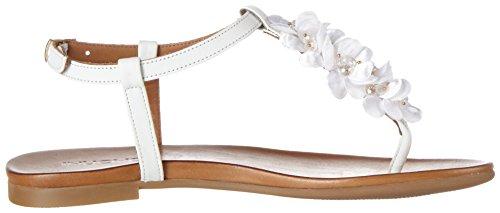 Women's White White Inuovo Flip Flops 7176 fXwqdF