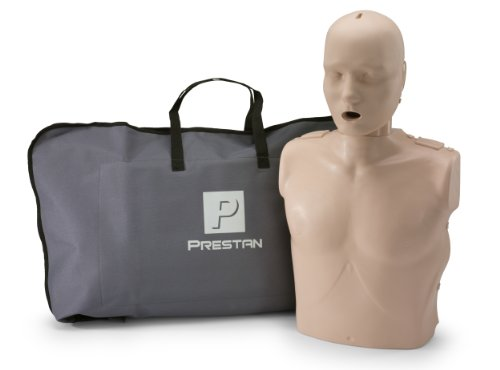 PRESTAN PP-AM-100-MS Professional Adult CPR-AED Training Manikin, Medium Skin - Airways Ms
