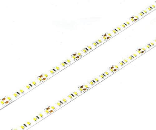 Premium UL-Listed LED Flex Tape Lighting, High Output 2835 LED Strip Light -600 LEDs, 16 Feet - 12V DC Kitchens, Cabinets, Displays & More (Warm White-3000 Kelvin High Density (828 Lumens/Ft))