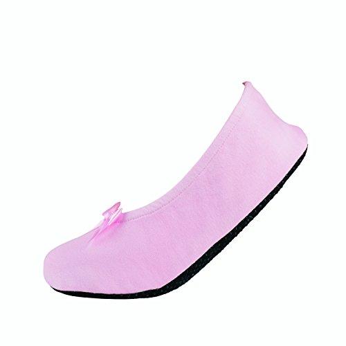 Kids Ballerina Haussocke von NUR DIE für kleine Mädchen (27-30, rosa)