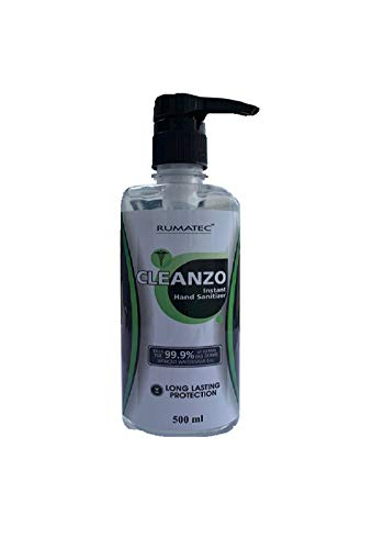 Buy Rumatec Cleanzo Instant Hand Sanitizer 500 Ml Pack Of 4