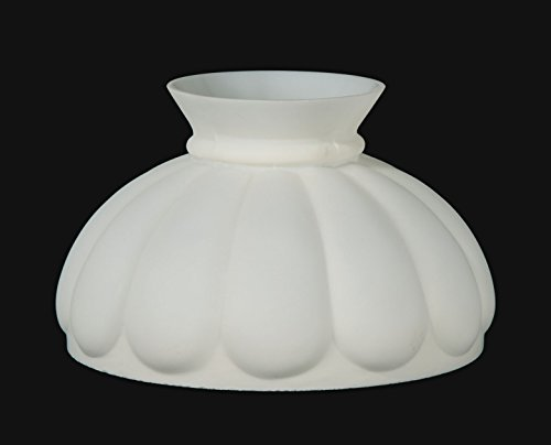 B&P Lamp Opal Melon Shade, Beige Background by B&P Lamp