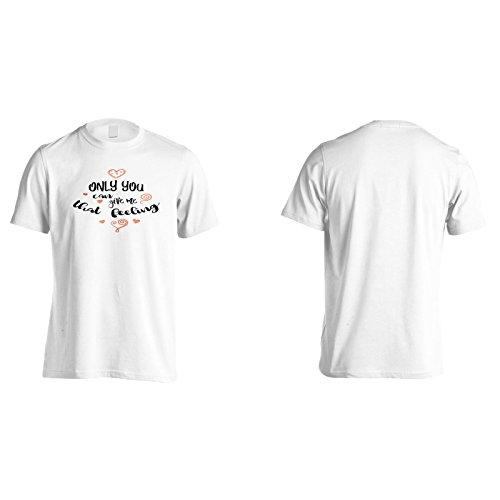 Nur Du Kannst Mir Dieses Gefühl Geben Herren T-Shirt n623m