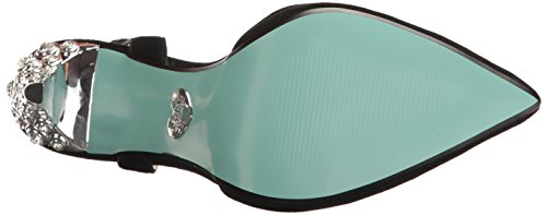 Blue Av Betsey Johnson Womens Sb-leona Kjole Pumpe Svart