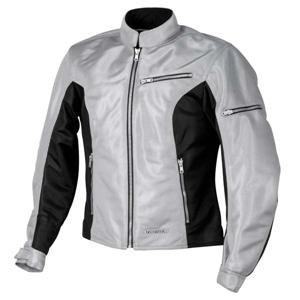 Firstgear Womens Contour Mesh Jacket - Firstgear Women's Contour Mesh Jacket - Small/Silver