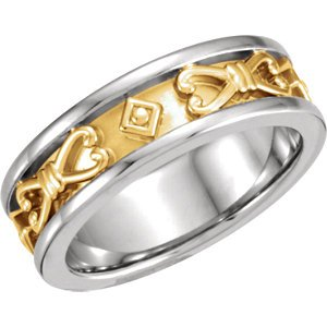 Jambs Jewelry Etruscan-Style Band
