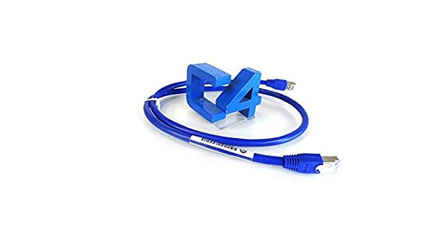 New Bulk HP AF594A 0.9M Blue CAT6 STP Data Cable