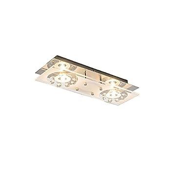 Prisma Leuchten Modern Deckenleuchte / Deckenlampe / Lampe / Leuchte Bright  2 Flammig Chrom /