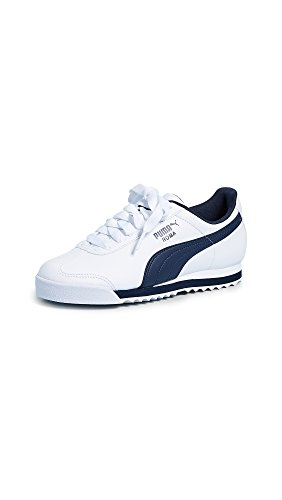 Men's Navy Basic New Roma White PUMA Sneaker AydwpOpq