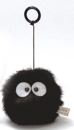 vibrating black soots doll from my neighbor totoro