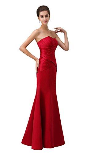 YiYaDawn -  Vestito  - linea ad a - Donna marrone 44