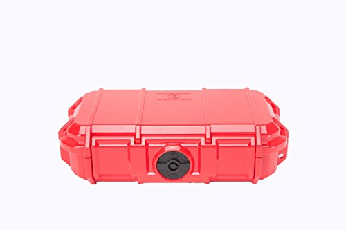 Seahorse 56 Micro Case, Red (SE56, RD) (Case Seahorse Waterproof)