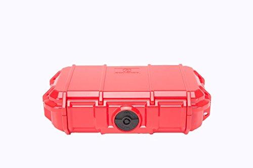 Seahorse 56 Micro Case, Red (SE56, RD) (Case Waterproof Seahorse)