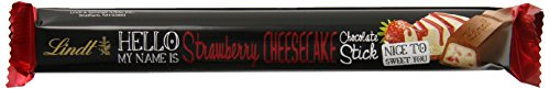 Lindt HELLO Stick, Strawberry Cheesecake, 1.4 Ounce (Pack of 24)