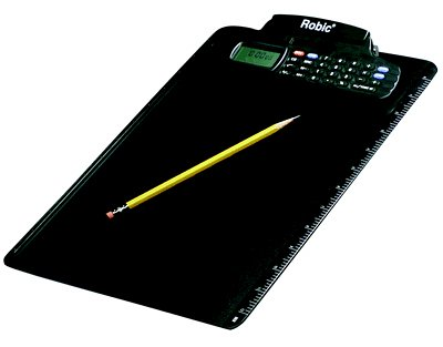 Robic M-457 Clipboard with Calculator and Stopwatch