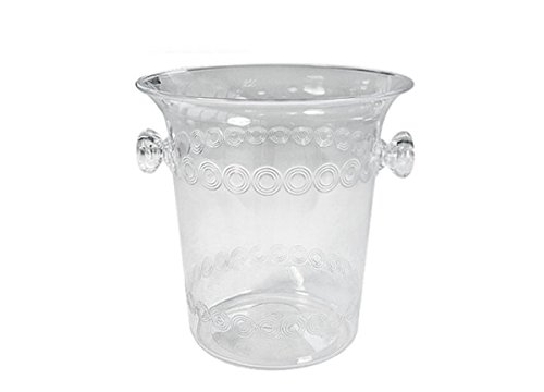 Party Dimensions 1853204 1.5 qt Clear Mini Plastic Ice Buckets44; Pack of 12