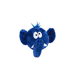Tosserz Squeaking Plush Ball Dog Toy by Outward Hound, Monkey Click on image for further info.