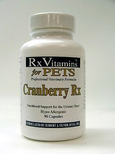 Rx Vitamins For Pets - Cranberry Rx 90 Caps by Rx Vitamins for - Ventura Mall Shopping