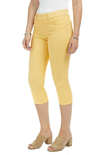 Suko Jeans Women's Denim Capris - Pull On – Stretch 14
