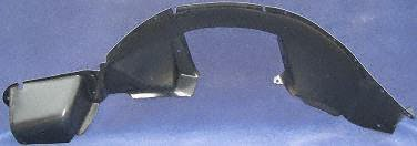 UPC 723651653608, 91-95 SATURN SL FRONT SPLASH SHIELD LH (DRIVER SIDE), FENDER LINER (1991 91 1992 92 1993 93 1994 94 1995 95) S222102 21093887