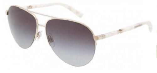 Dolce&Gabbana DG2115 Sunglasses-488/8G Pale Gold (Gray Gradient - Von Dolce Sunglasses
