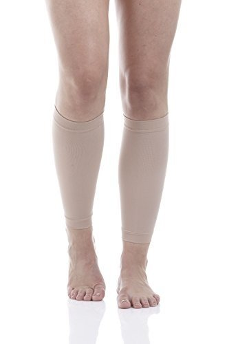 Compression Sleeves Beige Medium Support product image