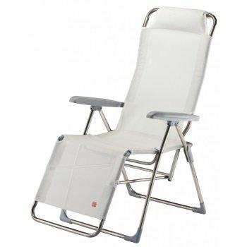 Fiam Chaise Longue Luna Pour Extrieur Art 021 TXBI Structure En Aluminium Assise Et