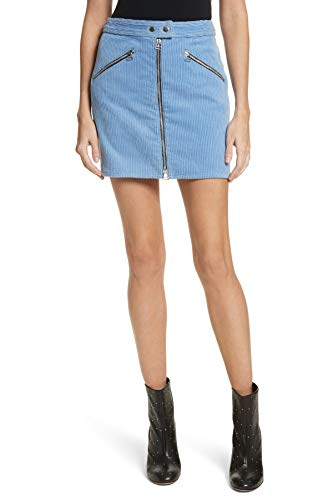 rag & bone/Jean Women's Racer Corduroy Miniskirt in Riviera Cord Size 2 ()