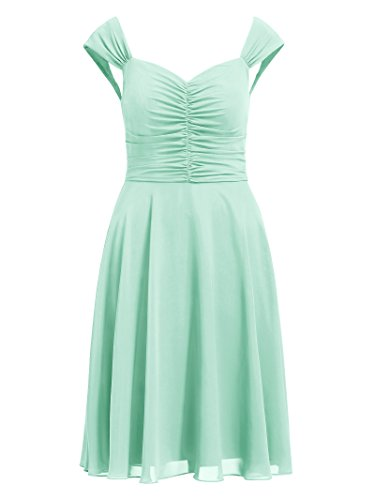 Green Party Alicepub Gown Mint Dress Bridesmaid Short Formal Event