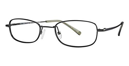 Hilco SG602FT Safety Glasses Full Rimmed Titanium Frames in Modified Oval Shape Offered in Forrest, Brushed Wine & Brown Smoke color from ()