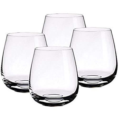 Whiskey Glass Set Of 4   Best Whiskey Set For Christmas Gifts, Office  Parties, Birthdays U0026 Weddings. Classic Design For Timeless Elegance By  Deluxe Barware ...