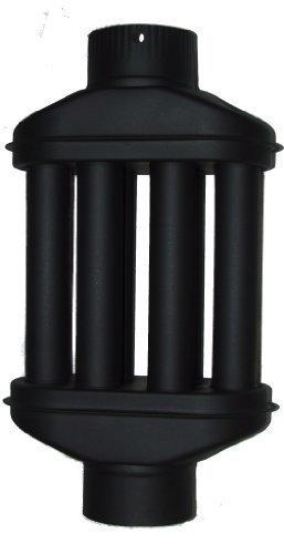 acerto Warmlufttauscher 120 mm/ 55 cm Rauchgaskühler Rauchrohr Abgaswärmetauscher Ofenrohr