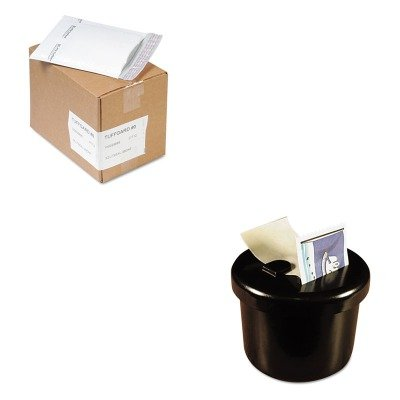 KITLEE40100SEL37712 - Value Kit - Sealed Air Jiffy TuffGard Self-Seal Cushioned Mailer (SEL37712) and Lee Ultimate Stamp Dispenser (LEE40100) by Sealed Air