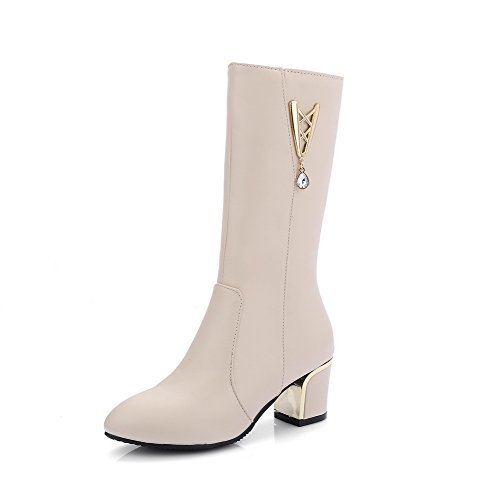 amoonyfashion-womens-solid-pu-kitten-heels-zipper-pointed-closed-toe-boots-beige-43