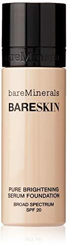 bareMinerals bareSkin Pure Brightening Serum Foundation SPF 20, Bare Linen 03, 1 Ounce