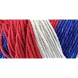Bulk Buy: Red Heart Team Spirit Yarn (3-Pack) Red, White & Blue E797-1776