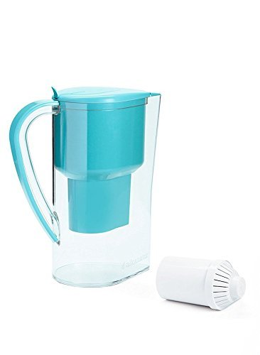 Alkanatur Alkaline Water Pitcher Filter- Alkalized and Ionized tap Water - High pH Alkalizer Machine-Capacity 0.6 g / PH of 9.5 Approved by the FDA, CE, RoHS, SGS by Alkanatur