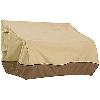 Amazon Com Windyus Heavy Duty Patio Bench Loveseat Cover