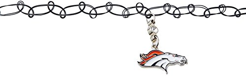 Siskiyou NFL Denver Broncos Knotted Choker, Black, Stretch