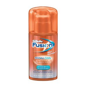 gillette fusion hydra cool after shave gel