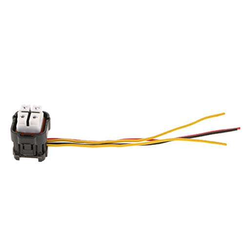 KESOTO 4P Waterproof Fuel Pump Connector Wiring Harness Pigtail 4-Wire Female Connector Plugs 303 70421y-2.2-21: