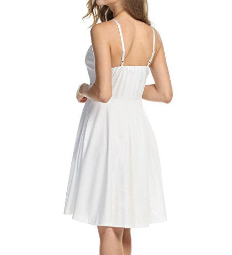 up Bretelle Manche Nu sans Robe Femme Dos Robe Meaneor Pin tST0xFPnq