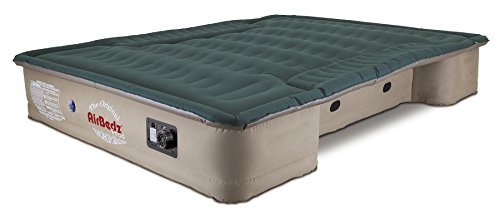 AirBedz Pro3 (PPI 301) Truck Bed Air Mattress for 8′ Full Sized Long Bed Trucks with Built-In DC Air Pump