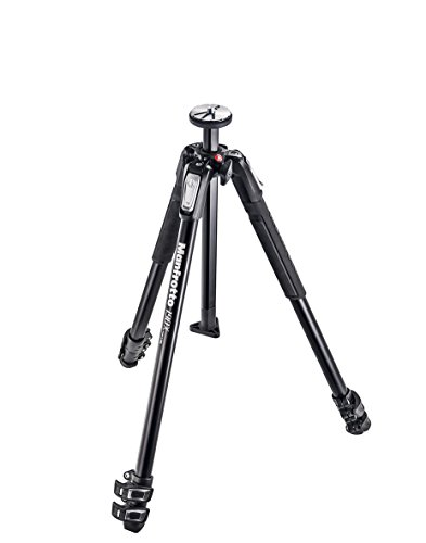 Manfrotto MT190X3 190X 3 Section Aluminum Tripod (Black) by Manfrotto