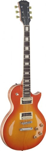 Stagg SEL-ZEB-HB L Series Zebra 6-String Electric Guitar wit