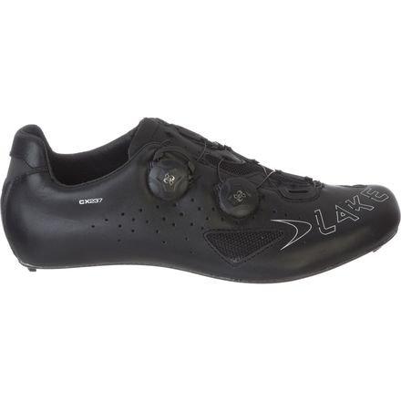Lake CX237 Cycling Shoe - Wide - Men's Black, 50.0/Wide