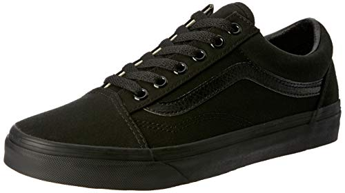 Vans Old Skool(tm) Core Classics, Black (Canvas), Men's 7.5, Women's 9 Medium ()